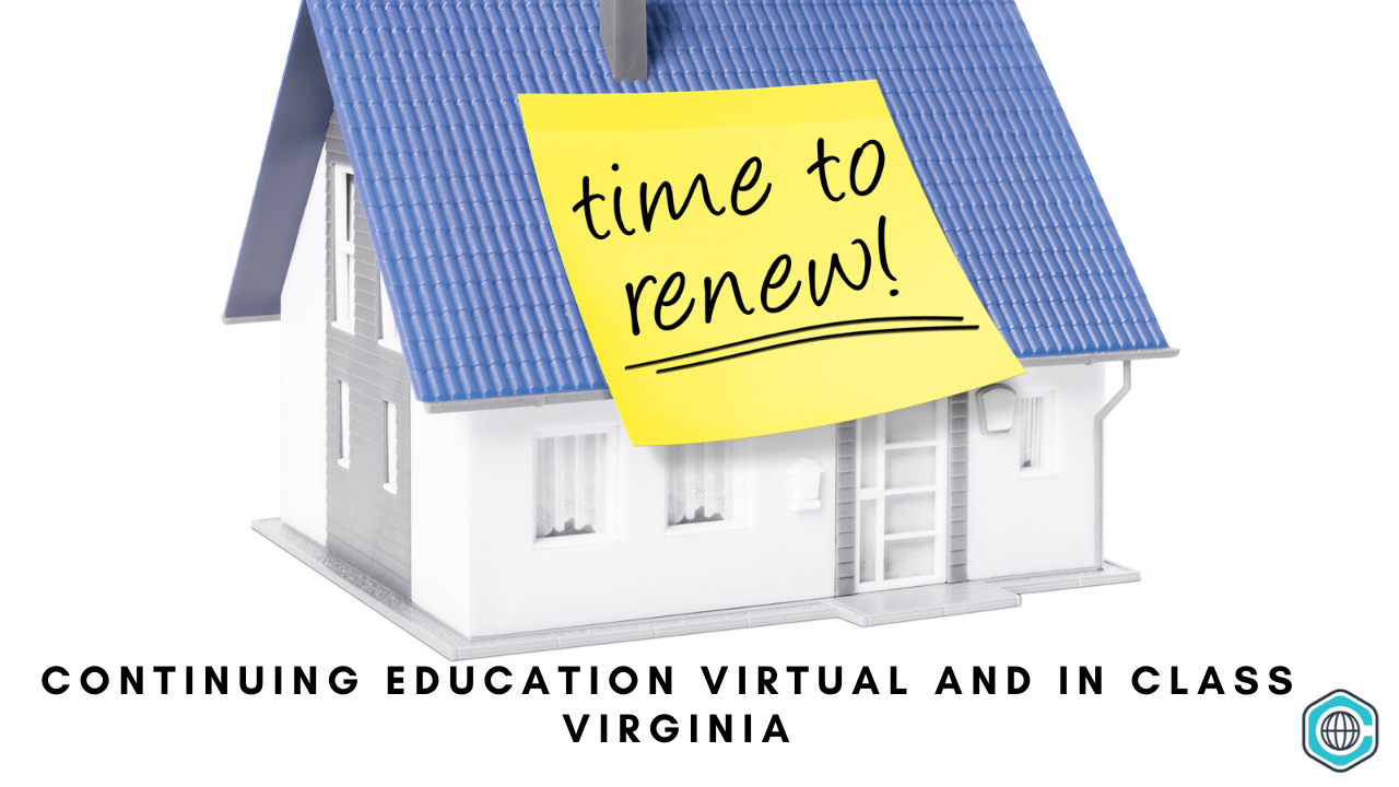 continuing ed real estate agents virginia