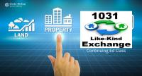 1031 like kind exchange continuing ed VA
